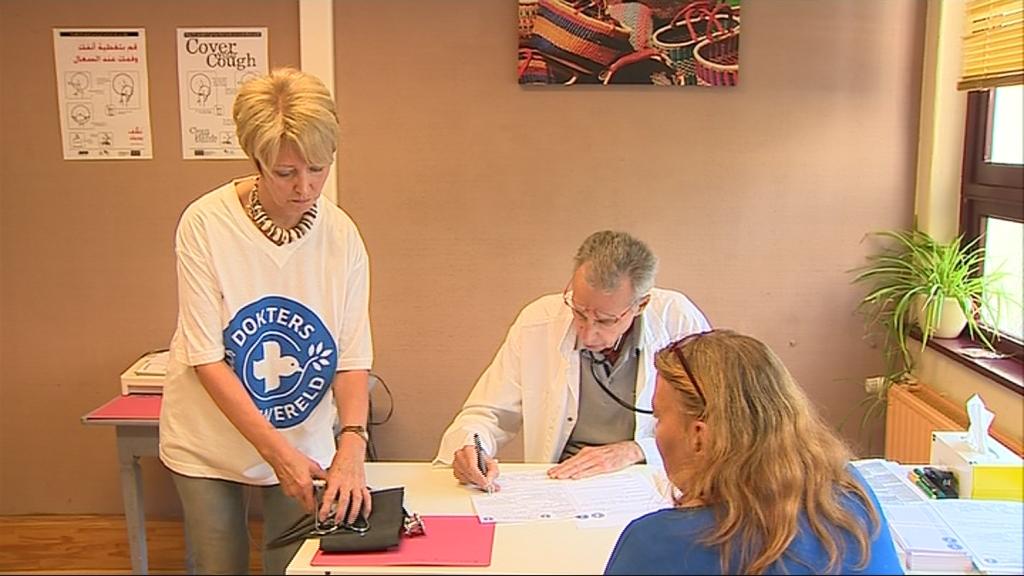 Dokters van de wereld in oostende hielp in een jaar 120 mensen focus en wtv - Tv josephine huis van de wereld ...